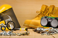 Safety tools Stock Images