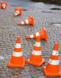 Safety Traffic Cones Stock Photography