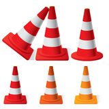 Safety Traffic Cones Royalty Free Stock Photography