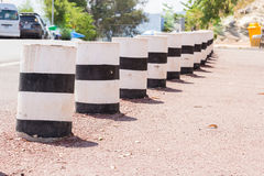 Safety traffic post guard Stock Photography