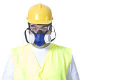 Safety uniform on white Stock Photo