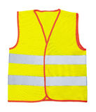 Safety vest. Isolated on the white background Royalty Free Stock Images