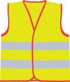 Safety vest. A vector illustration of safety vest Stock Photo