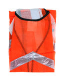 Safety Vest Back Neck up Close Stock Photos