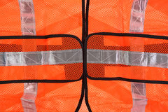 Safety Vest Front up Close Royalty Free Stock Image