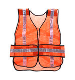 Safety Vest Front View Royalty Free Stock Images