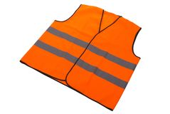 Safety vest isolated. Stock Photography