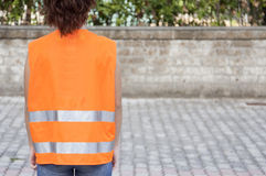 Safety vest Royalty Free Stock Photos