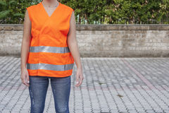 Safety vest Stock Image
