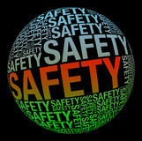 Safety in word collage Stock Photo