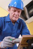 Safety at work important Stock Photography