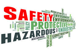 Safety in workplace concept Royalty Free Stock Photo