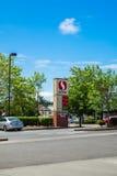 Safeway paliwa stacja Fotografia Stock