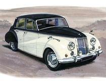 Saffier armstrong-Siddeley vector illustratie