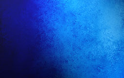 Saffier blauwe achtergrond met het ontwerp van de grungetextuur Stock Fotografie