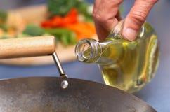 safflower масла Стоковые Фотографии RF