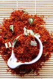 Safflower Stock Image