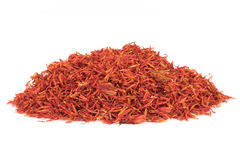 Safflower Petals Royalty Free Stock Photo