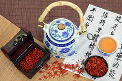 Safflower Tea Stock Images