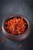 Safflower or thistle dye Stock Photography