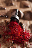 Saffraankruid in stapel stock afbeeldingen