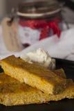 Saffranpannkaka från Gotland Royaltyfria Bilder