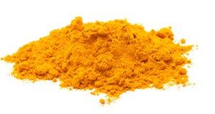 Saffron. Photo of saffron on white background Royalty Free Stock Image