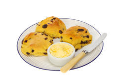 Saffron buns Royalty Free Stock Images