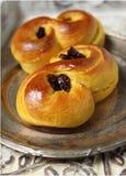 Saffron buns Royalty Free Stock Image