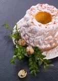 Saffron Easter Babka Royalty Free Stock Photos