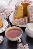Saffron Easter Babka Stock Photography