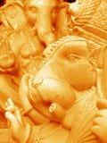 Saffron Ganesha Royalty Free Stock Image