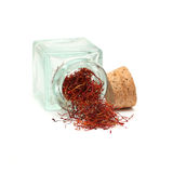 Saffron - gourmet food Royalty Free Stock Photo