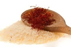 Saffron of L'Aquila. Delicious saffron cultivated in Navelli, L'Aquila, IT Royalty Free Stock Image