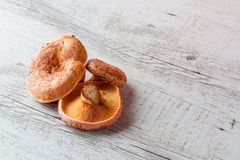 Saffron milk cap mushrooms Stock Photo