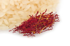 Saffron of morocco Stock Images