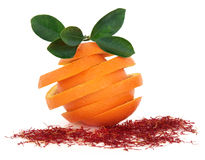 Saffron and Orange Fruit Royalty Free Stock Photo