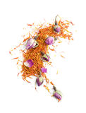 Saffron and rose Stock Photos