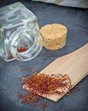 Saffron Spice Stock Photos