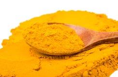 Saffron spice powder Stock Photo