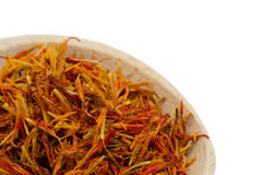 Saffron spice Royalty Free Stock Photos