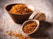 Saffron spices Royalty Free Stock Photo