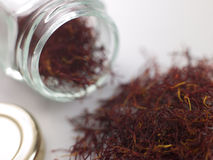 Saffron Strands Stock Photo