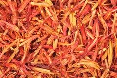 Saffron threads Stock Image