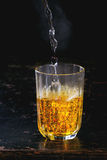 Saffron water Stock Image