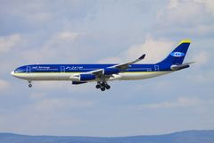 Safi Airliners imagem de stock royalty free