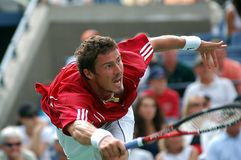 Safin Marat plays volley Stock Photography