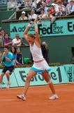 Safina Dinara em Roland Garros 2008 (117) Foto de Stock