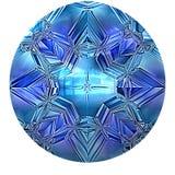 Safira azul ilustração royalty free