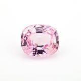 Safira cor-de-rosa Foto de Stock